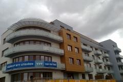 Obytný komplex Praha Hostivař